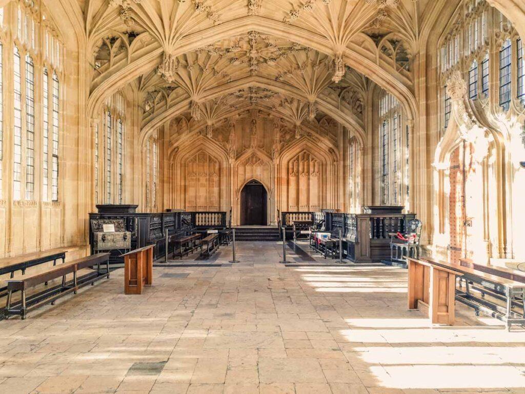 Bodleian Library Divinity School