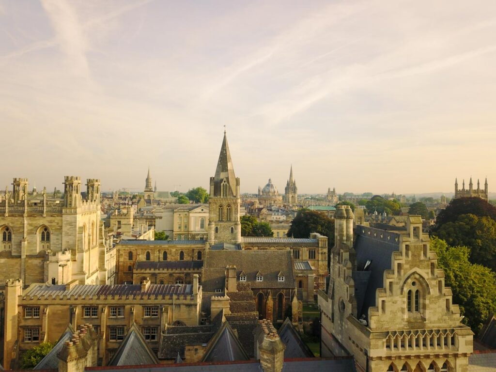 Dreaming spires Oxford